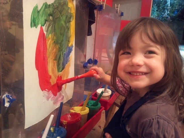 Painting at the Childrens Museum