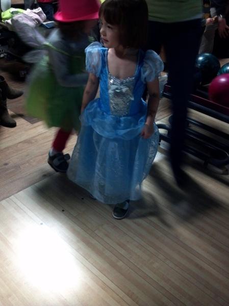 bowling party princess