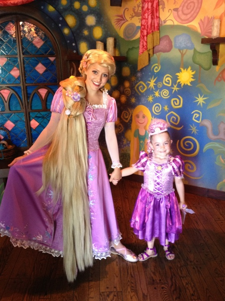 With Rapunzel